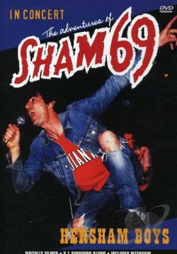 Adventures of Sham 69 - Hersham Boys DVD Cover Art