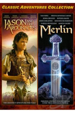 Classic Adventures Collection, Vol. 4: Jason and the Argonauts/Merlin DVD Cover Art