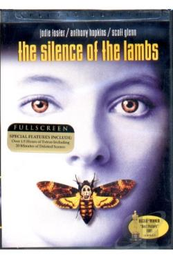 Silence of the Lambs DVD Cover Art