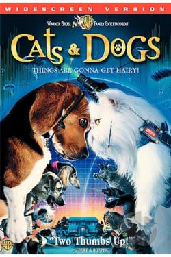 Cats & Dogs DVD Cover Art