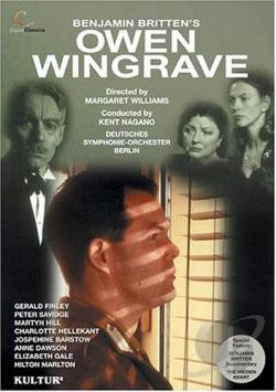 Britten - Owen Wingrave DVD Cover Art