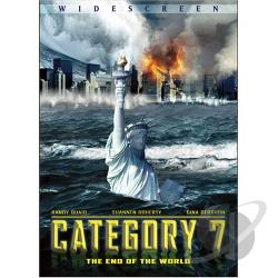 Category 7: The End of the World DVD Cover Art
