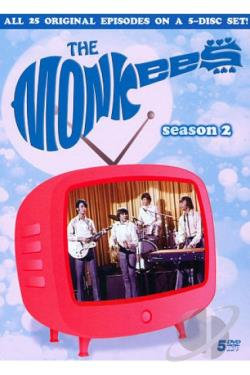 Monkees: Season 2 DVD Cover Art