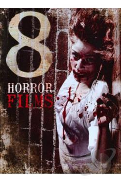 8 Horror Films DVD Cover Art