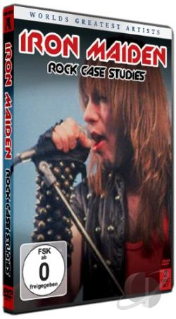 Rock Case Studies - Iron Maiden DVD Cover Art