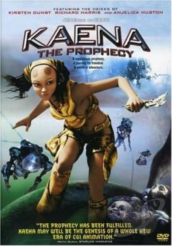 Kaena: The Prophecy DVD Cover Art