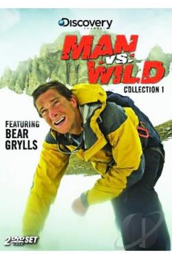 Man Vs. Wild - Collection 1 DVD Cover Art