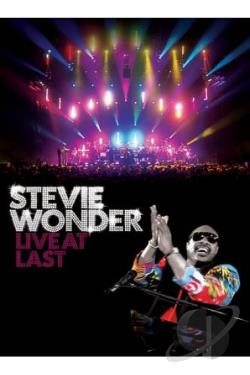 Stevie Wonder - Live At Last BRAY Cover Art