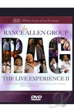 Rance Allen Group: The Live Experience II DVD Cover Art