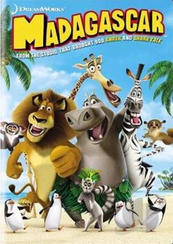 Madagascar DVD Cover Art