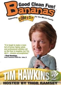 Bananas Caomedy - Tim Hawkins: Act 2 DVD Cover Art