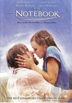 Notebook DVD Cover Art
