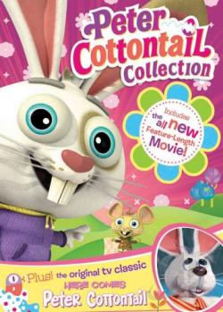 Here Comes Peter Cottontail/Here Comes Peter Cottontail: The Movie Two Pack DVD Cover Art