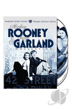 Mickey Rooney & Judy Garland Collection DVD Cover Art