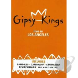 Gipsy Kings: Live in Los Angeles DVD Cover Art