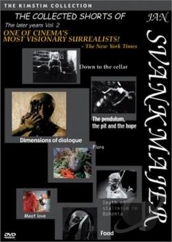 Collected Shorts of Jan Svankmajer - Volume 2 DVD Cover Art
