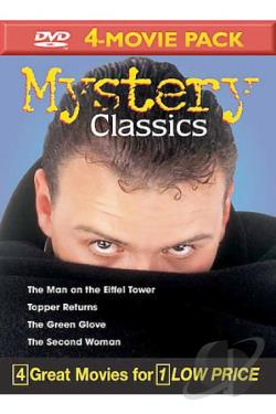 Mystery Classics Volume 8 - 4-Movie Pack DVD Cover Art