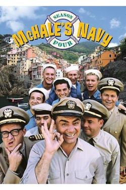McHale's Navy - The Complete Fourth Season DVD Cover Art