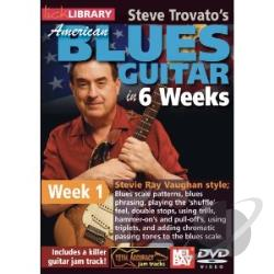 Lick Library: Steve Trovato's American Blues Guitar in 6 Weeks: Week 1 - Stevie Ray Vaughan Style DVD Cover Art