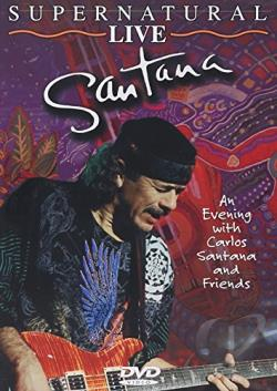 Santana - Supernatural Live DVD Cover Art