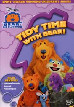 Bear in the Big Blue House - Tidy Time With Bear DVD Cover Art