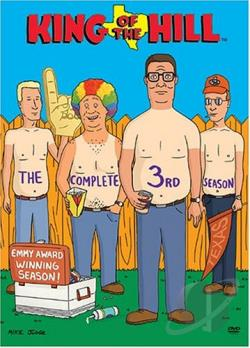 King of the Hill - Season 3 DVD Cover Art