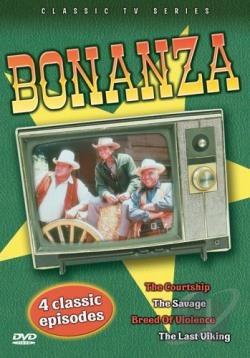 Bonanza - 4 Classic Episodes: Vol. 3 DVD Cover Art