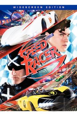 Speed Racer DVD Cover Art
