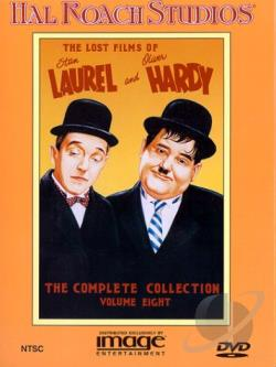 Lost Films Of Laurel And Hardy - The Complete Collection Vol. 8 DVD Cover Art