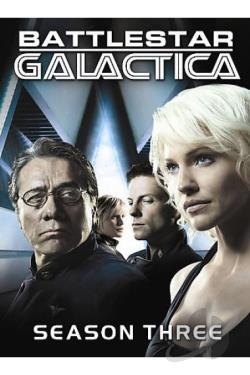Battlestar Galactica - The Complete Third Season DVD Cover Art