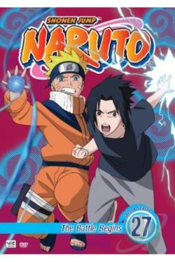 Naruto - Vol. 27: The Battle Begins DVD Cover Art