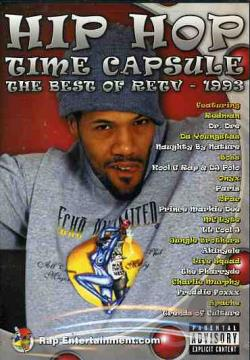 Hip Hop Time Capsule - 1993 DVD Cover Art