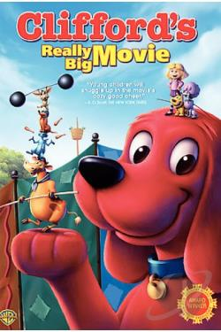 Clifford's Really Big Movie DVD Cover Art