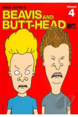 Beavis and Butt-Head - Vol. 4 DVD Cover Art
