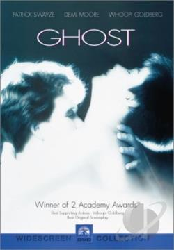 Ghost DVD Cover Art