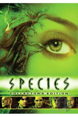 Species DVD Cover Art
