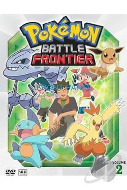 Pokemon: Battle Frontier - Vol. 2 DVD Cover Art