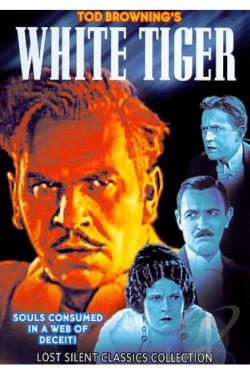 White Tiger DVD Cover Art