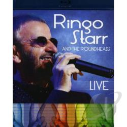 Ringo Starr and the Roundheads: Live BRAY Cover Art