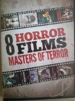 Masters of Terror Collection DVD Cover Art