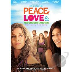 Peace, Love & Misunderstanding DVD Cover Art