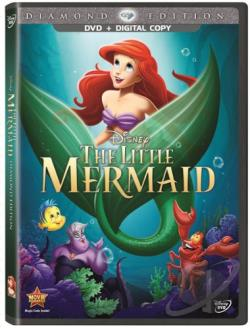 Little Mermaid DVD Cover Art
