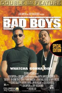 Bad Boys/Blue Streak DVD 2-Pack DVD Cover Art
