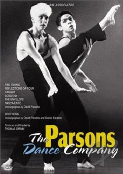 Parsons Dance Company DVD Cover Art