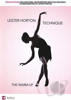 Lester Horton Technique: Warm Up DVD Cover Art
