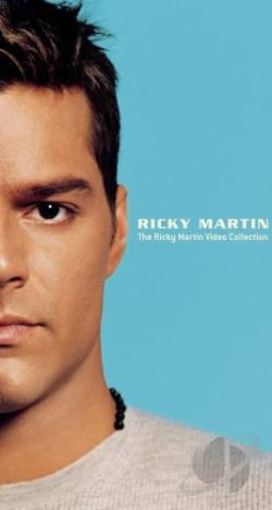Ricky Martin: The Ricky Martin Video Collection DVD Cover Art