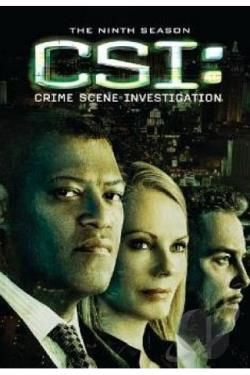 C.S.I. Crime Scene Investigation - The Complete Ninth Season DVD Cover Art
