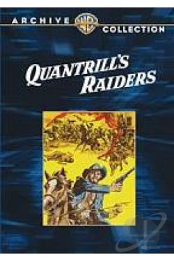 Quantrill's Raiders DVD Cover Art