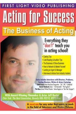 Acting for Success: The Business of Acting DVD Cover Art