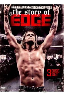 WWE: You Think You Know Me? - The Story of Edge DVD Cover Art